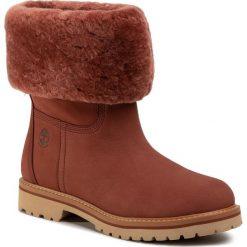 Wyprzedaż czerwone obuwie damskie Timberland Kolekcja