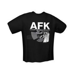 GamersWear AFK T-Shirt czarna (M) ( 6073-M ). Czarne t-shirty i topy dla dziewczynek GamersWear. Za 92.45 zł.