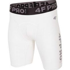Bielizna baselayer 4FPro SPMF404 - biały allover. Biała bielizna termoaktywna męska 4f, z jersey. W wyprzedaży za 79.99 zł.
