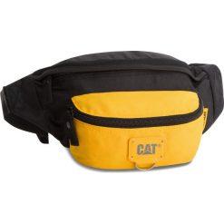 Saszetka nerka CATERPILLAR - Raymond 83432-12  Black/Yellow. Czarne saszetki męskie Caterpillar, z materiału, młodzieżowe. Za 89.00 zł.
