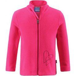 Lassie Dziewczęca Bluza Polarowa Fleece Jacket Neon Raspberry 098. Czerwone bluzy dla dziewczynek Lassie, z polaru. Za 85.00 zł.