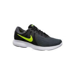 Buty do szybkiego marszu Revolution 4 męskie czarno-żółte. Czarne buty sportowe męskie Nike. W wyprzedaży za 139.99 zł.
