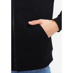 GStar MONTHON HOODED ZIP Bluza rozpinana dark black. Kardigany męskie G-Star, z bawełny. Za 419.00 zł.