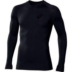 Asics Longsleeve IM LS Top 109815-0904. Czarne bluzki z długim rękawem męskie Asics, z materiału. W wyprzedaży za 169.99 zł.