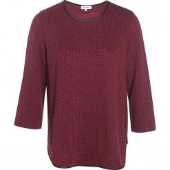 """Koszulka """"Teresaa"""" w kolorze ciemnoczerwonym. Czerwone t-shirty damskie Scottage, z bawełny, z okrągłym kołnierzem. W wyprzedaży za 63.95 zł."""