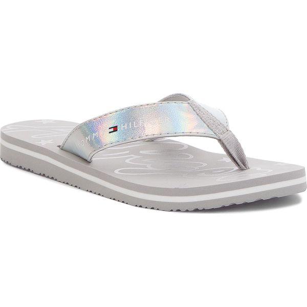 d22241041e677 Japonki TOMMY HILFIGER - Mirror Sparkle Beach Sandal FW0FW02955 ...