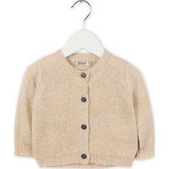Kardigan w kolorze beżowym. Swetry dla chłopców marki bonprix. W wyprzedaży za 95.95 zł.