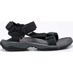 Teva - Sandały. Czarne sandały męskie Teva, z materiału. Za 399.90 zł.