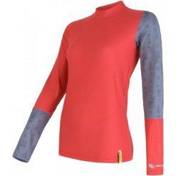 Sensor Bluzka Termiczna Flow Red/Reindeer L. Czerwone koszulki sportowe damskie Sensor, z długim rękawem. W wyprzedaży za 99.00 zł.