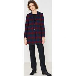 Simple - Spodnie. Szare spodnie materiałowe damskie Simple, z materiału. W wyprzedaży za 259.90 zł.