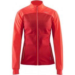 Craft Kurtka Softshellowa Challenger Red Xs. Czerwone kurtki sportowe damskie Craft, na zimę, z materiału. W wyprzedaży za 349.00 zł.