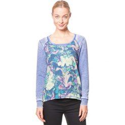 """Koszulka """"Unosco"""" w kolorze niebiesko-zielono-fioletowym. T-shirty damskie Brunotti, z okrągłym kołnierzem, z długim rękawem. W wyprzedaży za 78.95 zł."""