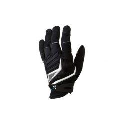 Rękawiczki Na Rower Mtb 700 Długie Czarno-Białe B'twin. Czarne rękawiczki damskie ROCKRIDER, z elastanu. Za 79.99 zł.