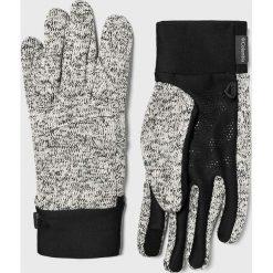 Columbia - Rękawiczki. Szare rękawiczki męskie Columbia, z dzianiny. W wyprzedaży za 99.90 zł.