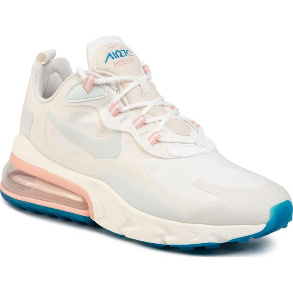Buty NIKE Air Max 270 React AO4971 100 Summit WhiteGhost Aqua