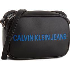 Torebka CALVIN KLEIN JEANS - Sculped Camera Bag K40K400385 001. Czarne listonoszki damskie Calvin Klein Jeans, z jeansu. Za 399.00 zł.
