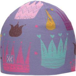Dwuwarstwowa czapka Micro Double kid crown. Szare czapki dla dzieci LUM. Za 52.44 zł.