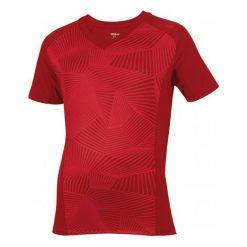 Wilson Koszulka Sportowa B Solana Geo Crew Terra Red S. Czerwone koszulki sportowe męskie Wilson, ze skóry. W wyprzedaży za 61.00 zł.
