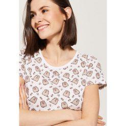 Piżamowa koszulka pusheen - Wielobarwn. Koszule nocne damskie House. Za 29.99 zł.