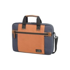 """Sideways 15,6"""" Niebiesko-pomarańczowy Torba SAMSONITE. Torby na laptopa męskie Samsonite, z tkaniny. Za 199.00 zł."""