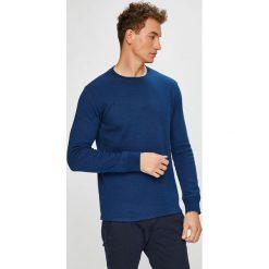 Levi's - Sweter. Niebieskie swetry przez głowę męskie Levi's. Za 189.90 zł.