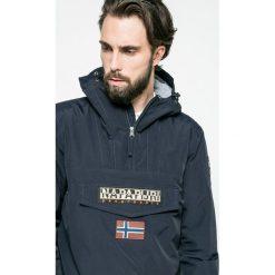 Napapijri - Kurtka. Szare kurtki męskie Napapijri, z materiału. W wyprzedaży za 639.90 zł.