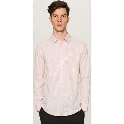 Koszula we wzory - Różowy. Czerwone koszule damskie Reserved. Za 49.99 zł.