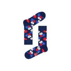 Skarpetki Happy Socks  KIM01-6000. Szare skarpety męskie Happy Socks, z bawełny. Za 24.43 zł.