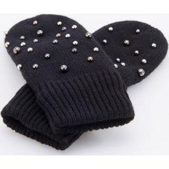Rękawiczki z koralikami - Czarny. Czarne rękawiczki damskie Reserved. Za 49.99 zł.