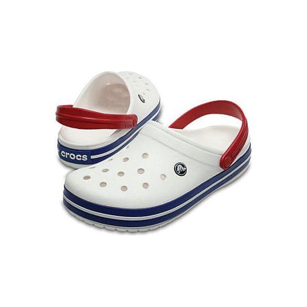 Crocs Crocband White Blue Jean Shoes 11016 11I (rozmiar 39 40)