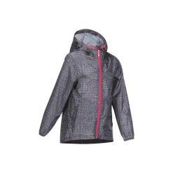 Kurtka Hike 150 dla dzieci. Szare kurtki i płaszcze dla dziewczynek QUECHUA. W wyprzedaży za 39.99 zł.