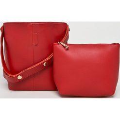 Answear - Torebka. Różowe torby na ramię damskie ANSWEAR. W wyprzedaży za 69.90 zł.