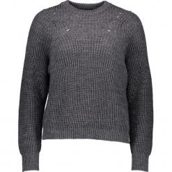 Sweter w kolorze szarym. Szare swetry damskie Gottardi, z wełny, z okrągłym kołnierzem. W wyprzedaży za 173.95 zł.