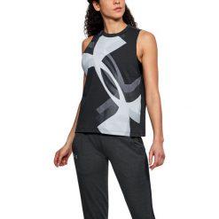 Under Armour Koszulka damska Muscle Tank Overla Logo czarna r. M (1310481-001). T-shirty damskie Under Armour. Za 75.80 zł.