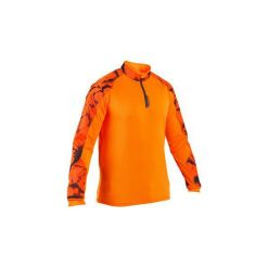 Koszulka SUPERTRACK. Brązowe bluzki z długim rękawem męskie SOLOGNAC. Za 79.99 zł.