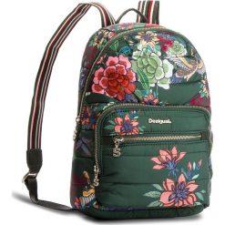 Plecak DESIGUAL - 18WAXFAC 4002. Zielone plecaki damskie Desigual, z materiału, klasyczne. Za 349.90 zł.