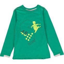 """Koszulka """"Thomas 603"""" w kolorze zielonym. Zielone t-shirty dla chłopców marki LEGO Wear, z długim rękawem. W wyprzedaży za 49.95 zł."""