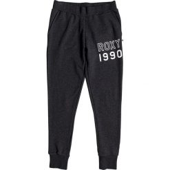 """Spodnie sportowe """"Sticked With Me"""" w kolorze antracytowym. Spodnie dresowe damskie Roxy. W wyprzedaży za 108.95 zł."""