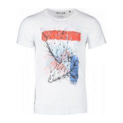 Mustang T-Shirt Męski Xl Biały. Białe t-shirty męskie Mustang. W wyprzedaży za 79.00 zł.