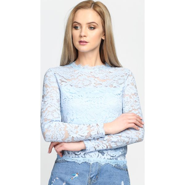 3ceb335722 Niebieska Bluzka Lover For Life - Niebieskie bluzki damskie marki ...