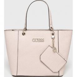 Guess Jeans - Torebka. Szare torby na ramię damskie Guess Jeans. Za 629.90 zł.