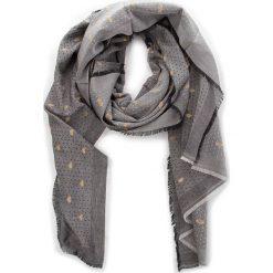 Szal TWINSET - Sciarpa AA8P1M  Nero 00006. Szare szaliki i chusty damskie Twinset, z bawełny. Za 339.00 zł.