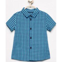 Koszula z krótkim rękawem - Niebieski. Koszule dla chłopców marki bonprix. W wyprzedaży za 19.99 zł.