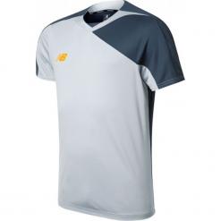 Koszulka treningowa TT Jersey. Szare koszulki sportowe męskie New Balance, na jesień, z jersey. W wyprzedaży za 69.99 zł.