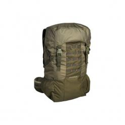 Plecak 50 l X-ACCESS. Brązowe plecaki damskie SOLOGNAC, z materiału. Za 169.99 zł.