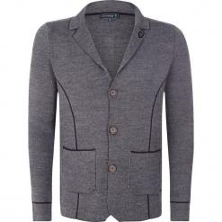 """Sweter rozpinany """"Leith"""" w kolorze antracytowym. Kardigany męskie marki bonprix. W wyprzedaży za 227.95 zł."""