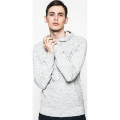 Medicine - Sweter Nocturnal. Szare swetry przez głowę męskie MEDICINE, z bawełny, z kapturem. W wyprzedaży za 99.90 zł.