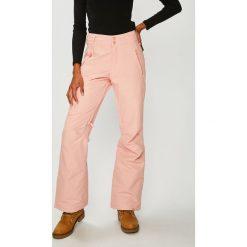 Roxy - Spodnie snowboardowe. Szare spodnie materiałowe damskie Roxy, z materiału. Za 599.90 zł.
