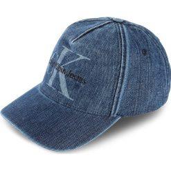 Czapka z daszkiem CALVIN KLEIN JEANS - Re-Issue Denim Bas K40K400038 430. Niebieskie czapki i kapelusze damskie Calvin Klein Jeans, z bawełny. Za 179.00 zł.