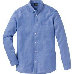 Koszula z długim rękawem Regular Fit bonprix niebieski wzorzysty. Koszule męskie marki Giacomo Conti. Za 89.99 zł.